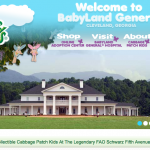 Cabbage Patch Kids Website