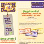Duluth Dollars Website