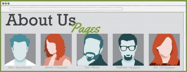 About Us pages
