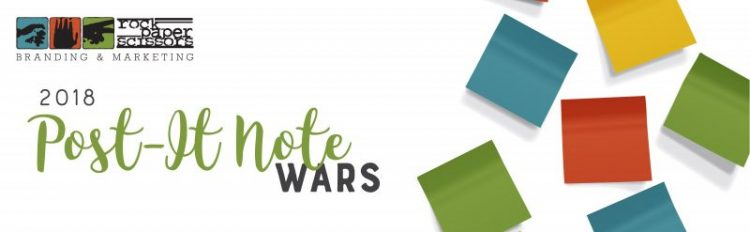 2018 Post-It Note Wars
